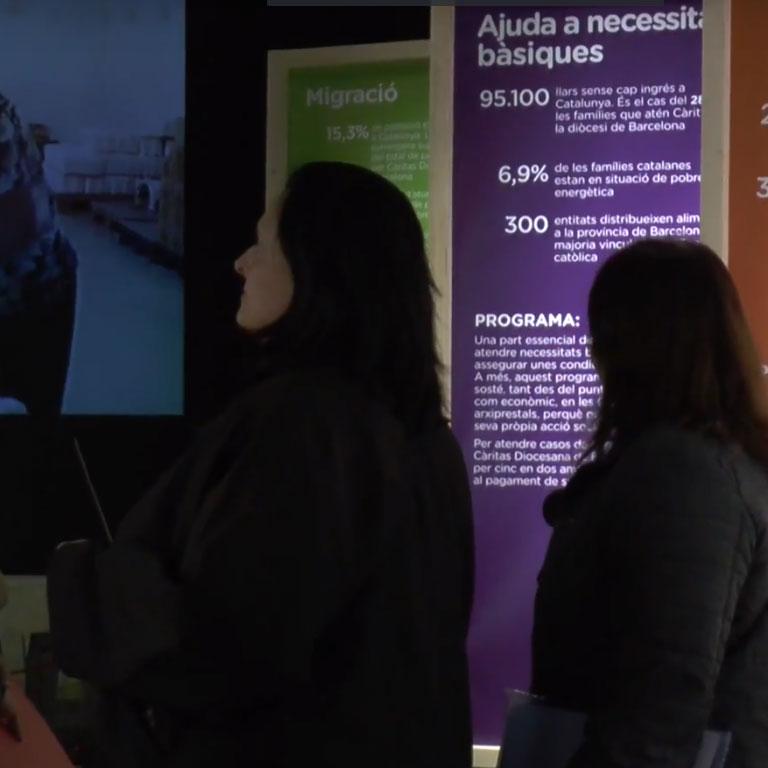 Caritas-Blog-Càritas celebra 70 anys amb una exposició al Palau Robert