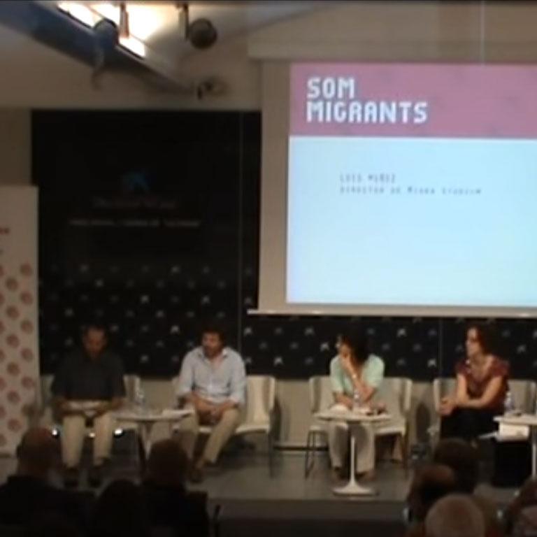 Caritas-Blog-Xerrada i col·loqui Som Migrants