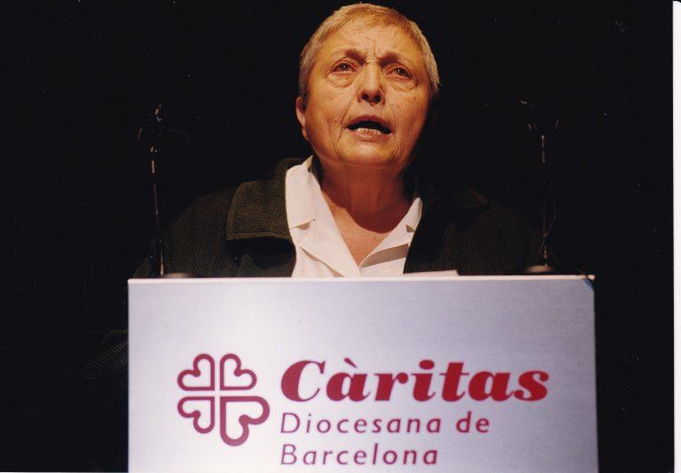 Mor Núria Gispert, directora de Càritas Diocesana de Barcelona entre 1998 i 2004