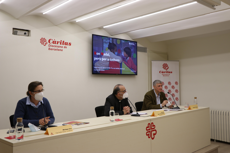 Càritas Barcelona alerta de l'impacte profund i sostingut de la crisi de la COVID-19 en les persones que acompanya